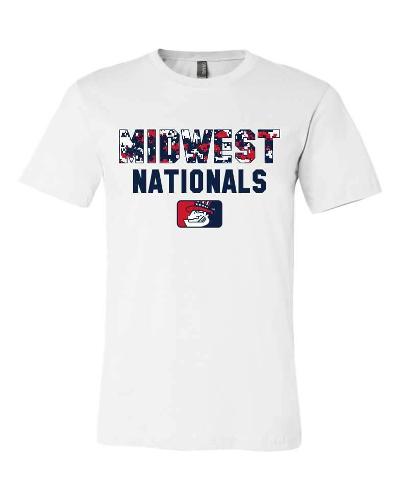 Digital Camo Short Sleeve - Midwest Nationals Fall 2017