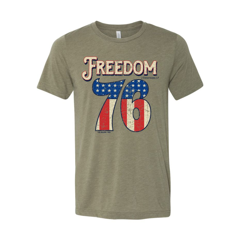 The Holiday Tees - Freedom - 4th of July Tee 2020