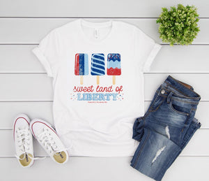 The Holiday Tees - Sweet - 4th of July Tee 2020
