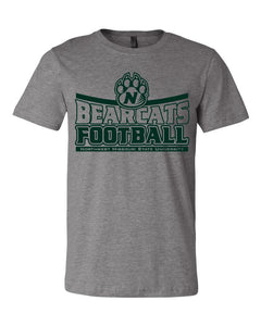NW Missouri Football - Northwest Missouri State University Football (Goes to 3XL in Long Sleeve and Short Sleeve Tees)