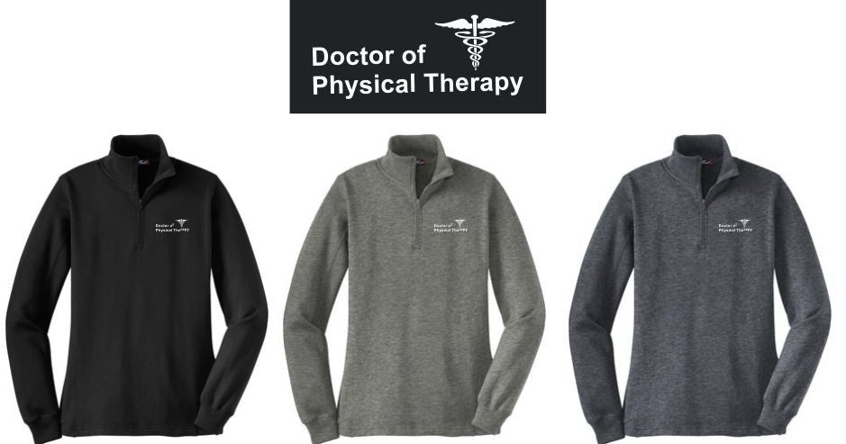 LST253 LADIES 1/4 Zip WITHOUT SBU Logo - Southwest Baptist University  Doctor of Physical Therapy