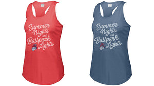 Ladies Ballpark Tank - Midwest Nationals