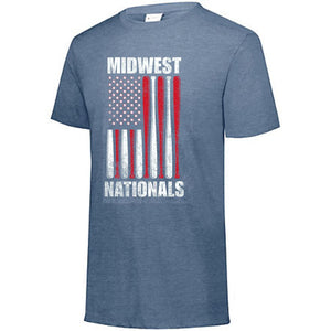 Unisex Flag Tee - Midwest Nationals