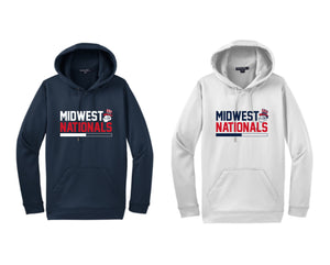 F244 Block Moisture Wicking Hoodie - Midwest Nationals