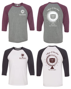 3200 Baseball Tee - Missouri State University: College of Education