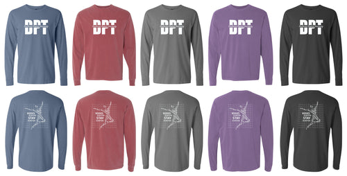 6014 Comfort Colors Long Sleeve Stay in Motion - Southwest Baptist University Doctor of Physical Therapy