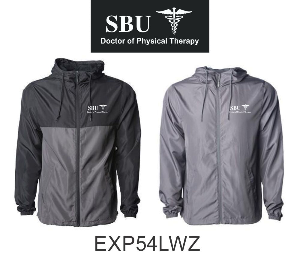EXP54LWZ Windbreaker WITH SBU Logo - Southwest Baptist University Doctor of Physical Therapy
