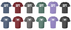 1717 Comfort Color Short Sleeve Go Serve Love - Southwest Baptist University Doctor of Physical Therapy