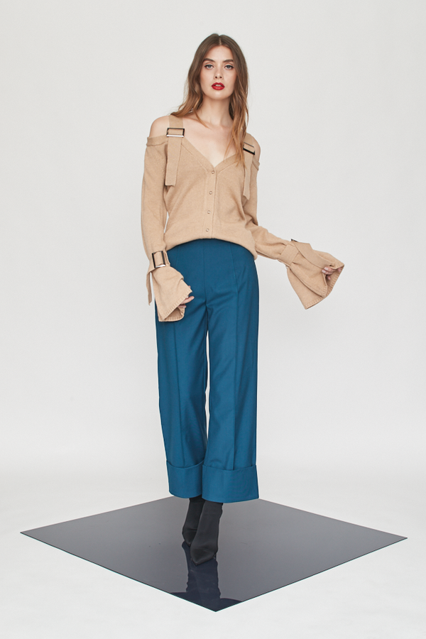 Straight Wide Leg Pants