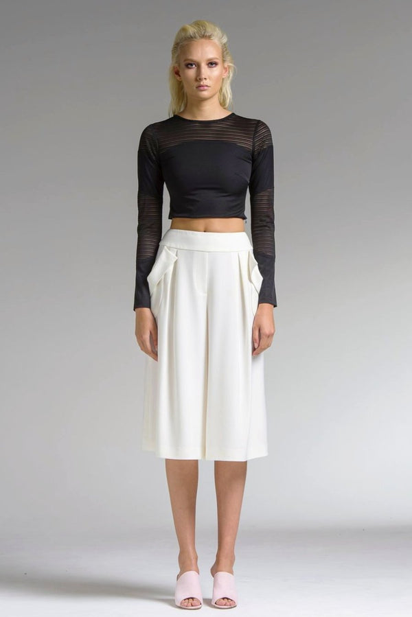 Linear Crop Top