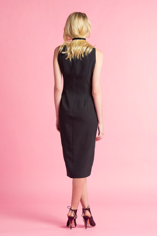 Moulding Silhouette Dress