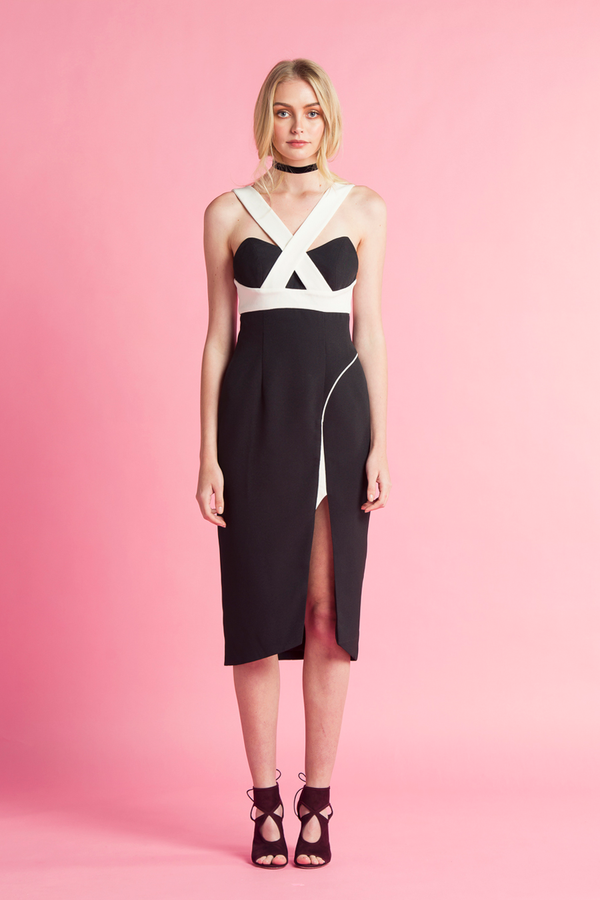 Pipeline High Split Dress