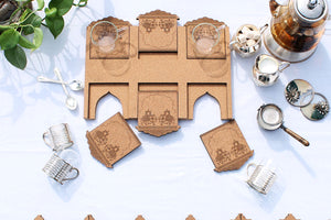 Meharaab: Tea Tray