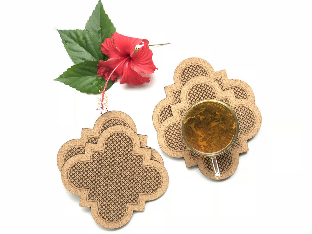 Jaali Coasters: Taj (set of 4)