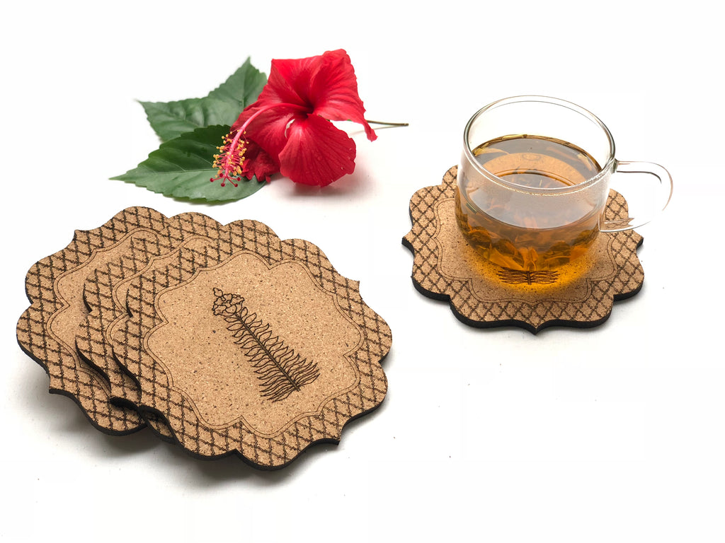 Jaali Coasters: Ashoka (set of 4)