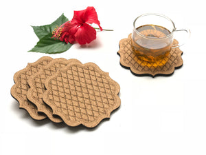 Jaali Coasters: Amer (set of 4)