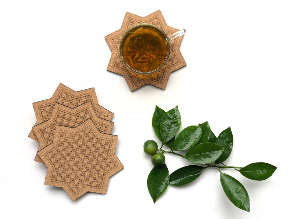 Jaali Coasters: Sitara (set of 4)