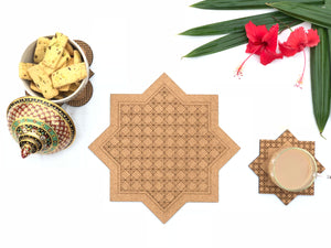 Jaali Trivets: Sitara (set of 2)
