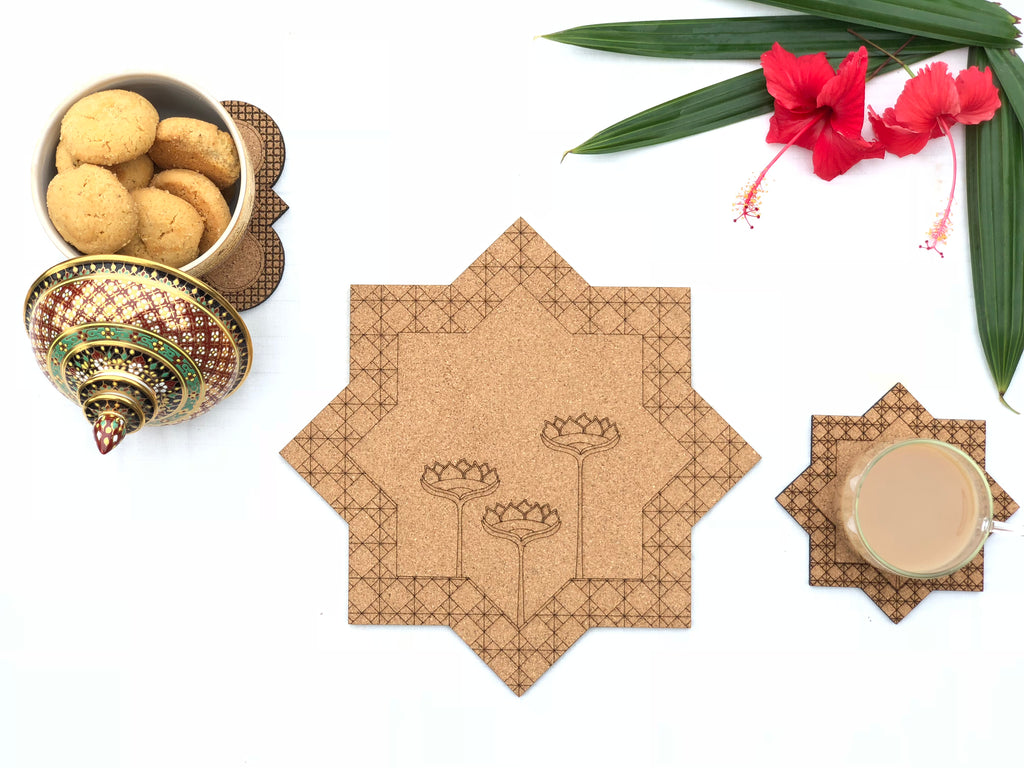 Jaali Trivets: Kamal (set of 2)