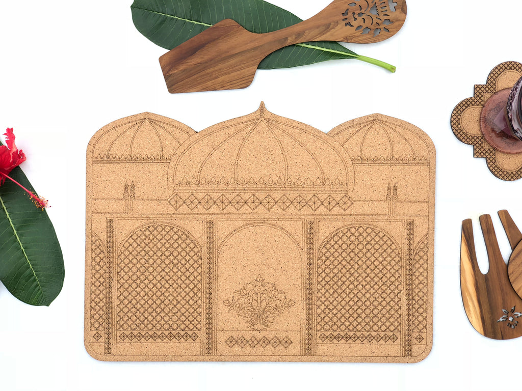 Darbaar Placemats: Guldasta (set of 2)
