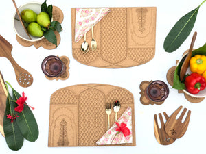 Darbaar Placemats: Amer (set of 2)