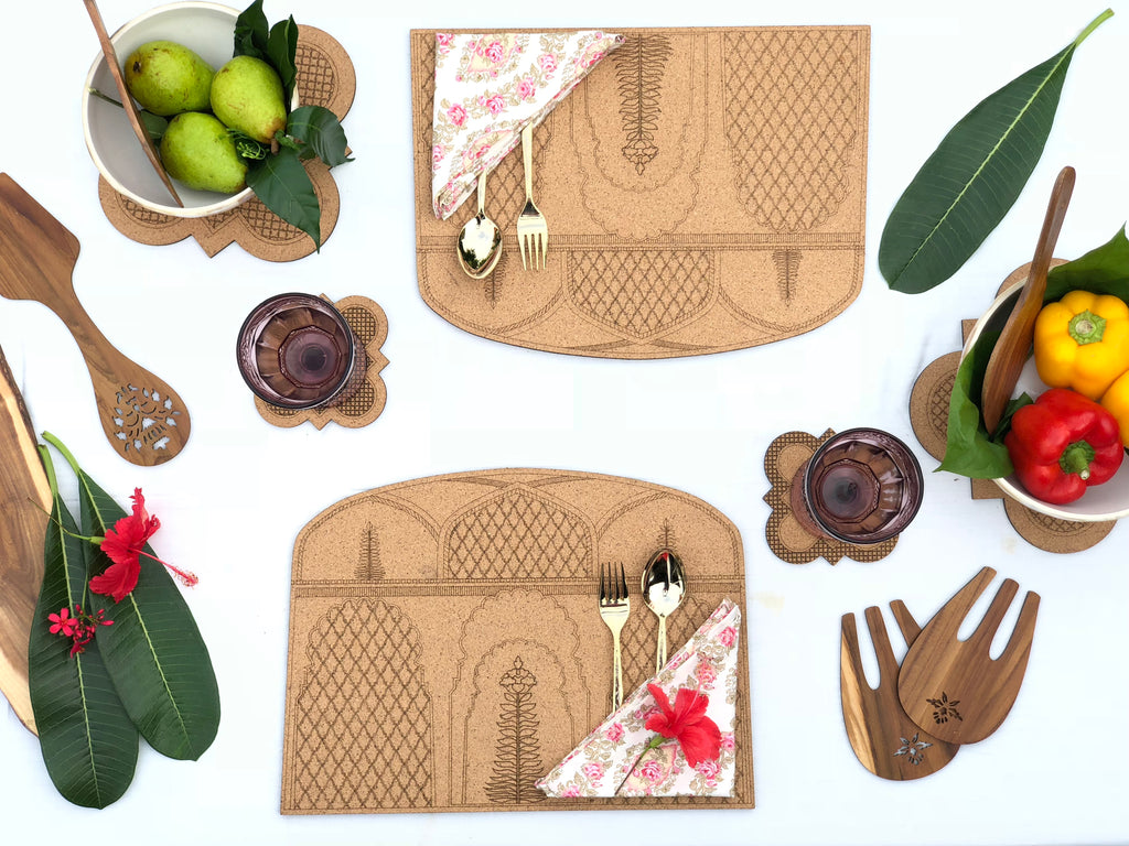 Darbaar Placemats: Ashoka (set of 2)