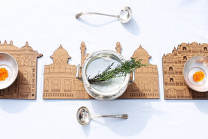 Kile aur Kahaniyaan: Red Fort Placemats