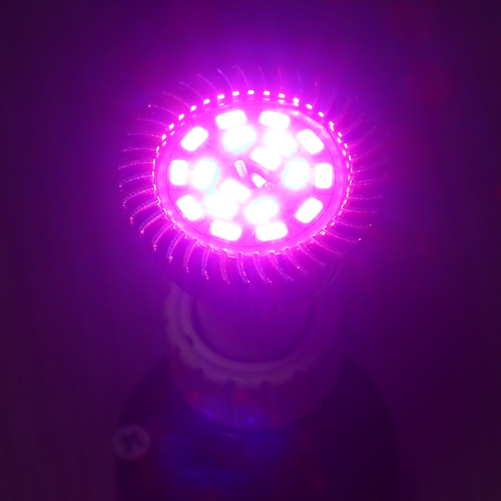 GU10 8W SMD 5730 LED Grow Light with 18 LEDs