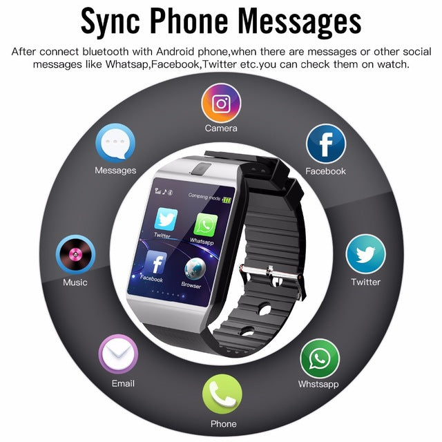 Super User Friendly Android Smart Watch
