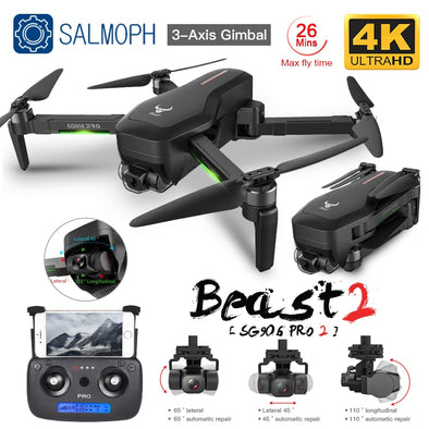 ZLL SG906 Pro 2 Pro2 / SG906 GPS Drone with Wifi 4K Camera Three-Axis Anti-Shake Gimbal Brushless Professional Quadcopter Dron