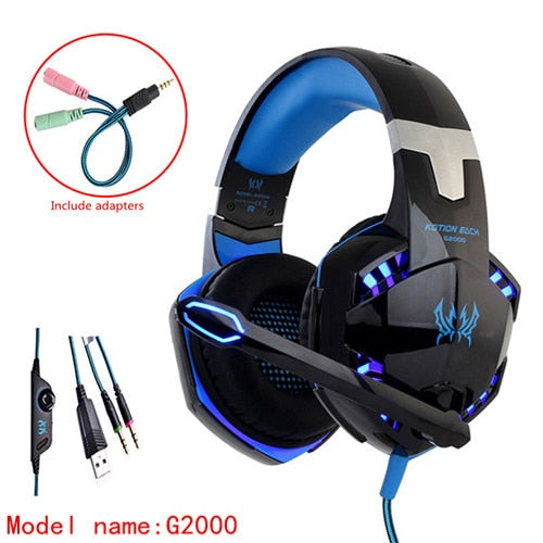 Gaming Headphones With Microphone