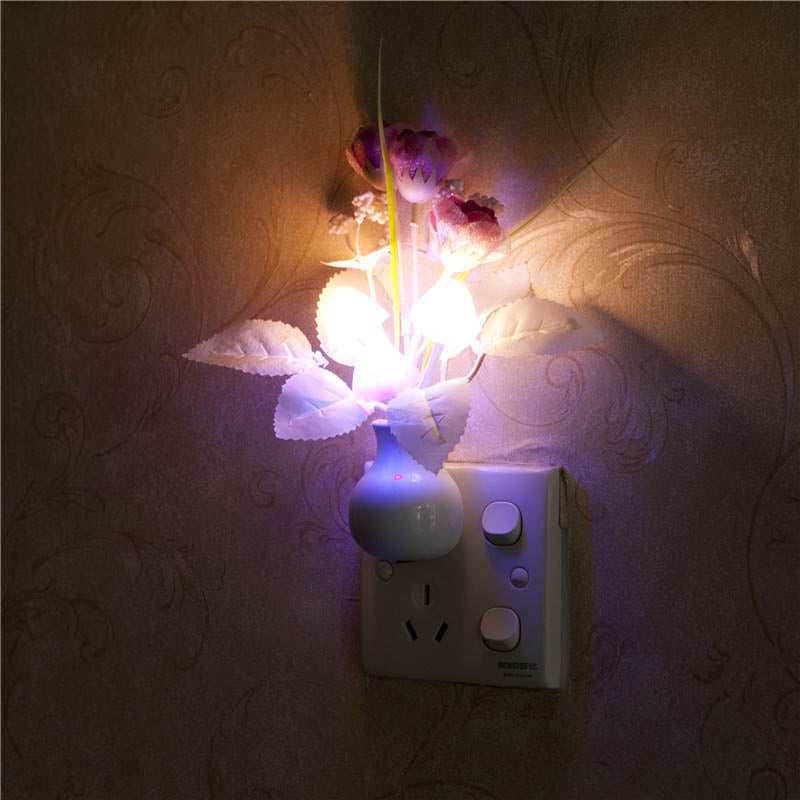 Plug Mushroom Rose Light