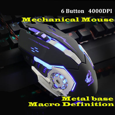 Gaming  6 Button Mechanical Mouse - SmartTechShopping