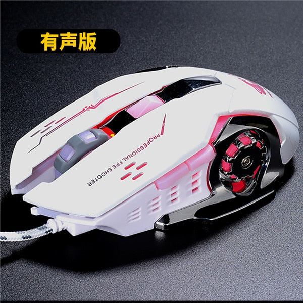 Gaming  6 Button Mechanical Mouse