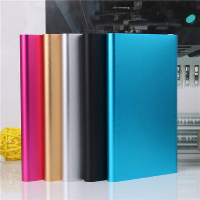 Ultra Slim Portable Power Bank 10000mah bateria Powerbank External Battery Charger Backup 18650 power bank  Lowest Price - SmartTechShopping
