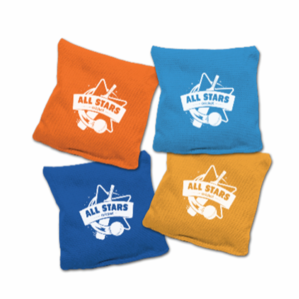 All Stars Cricket Bean Bags (Pack of 16)
