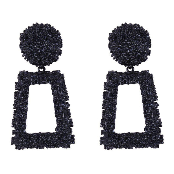 European Geometric Alloy Gift Earrings