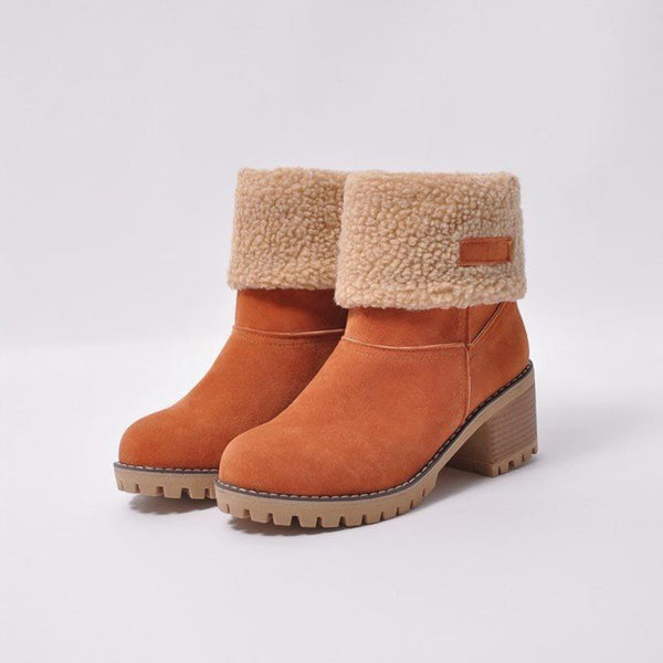 New Style Women's Candy Color Snow Boots