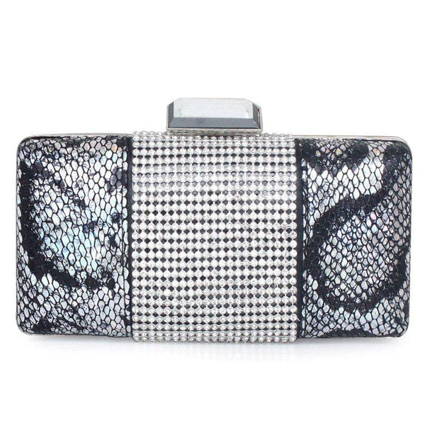 Rectangle PU Banquet Clutches & Evening Bags