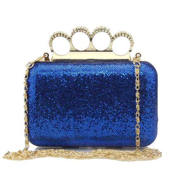 Banquet Rhinestone Trunk Clutches & Evening Bags