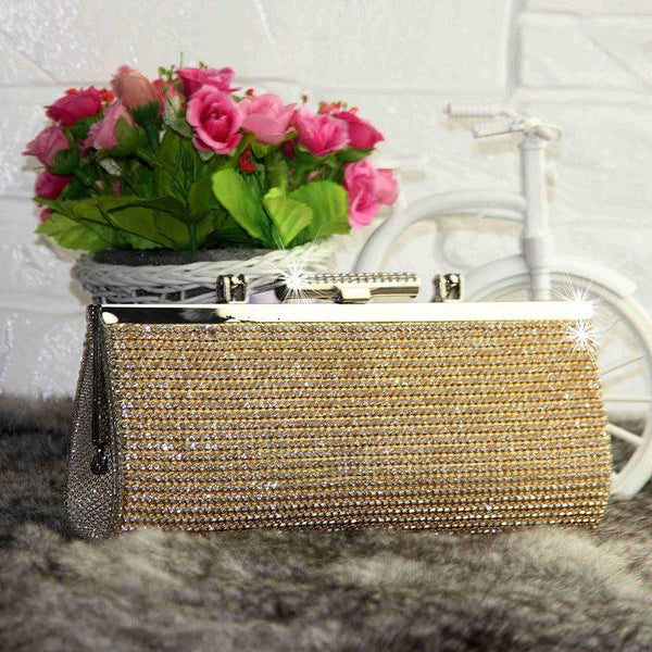 Rhinestone Versatile Clutches & Evening Bags