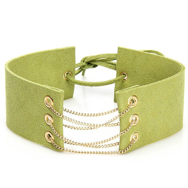 Choker Necklace Geometric Female Necklaces