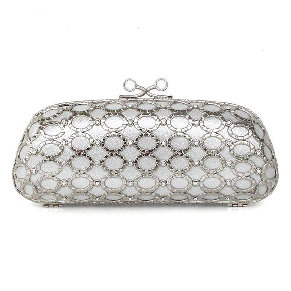 Rectangle Versatile Velour Clutches & Evening Bags