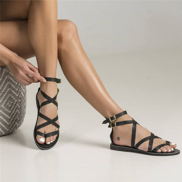 Buckle Open Toe Sandals