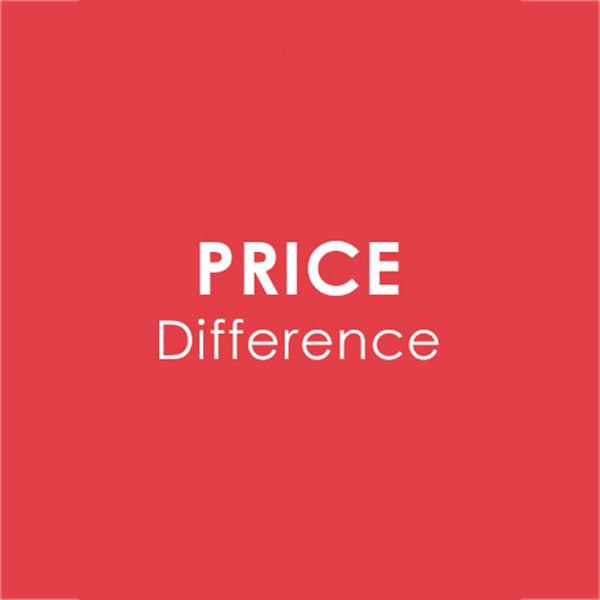 Price Difference for produts