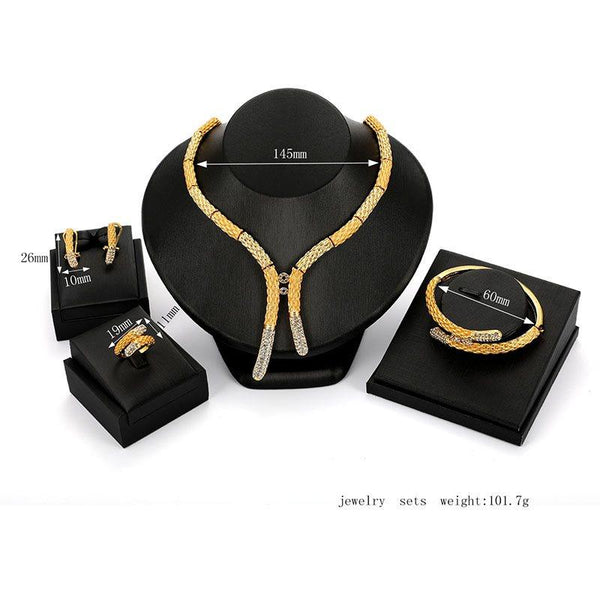 Earrings E-Plating European Gift Jewelry Sets