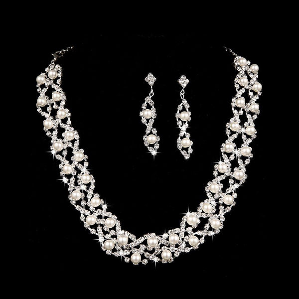 Necklace Korean Engagement Jewelry Sets