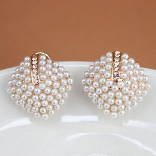 Korean Alloy Geometric Party Earrings