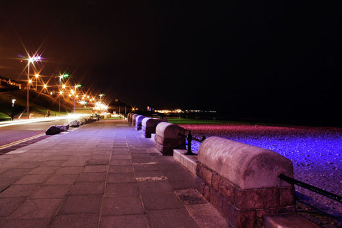 Along the Prom, Roker by jo howell