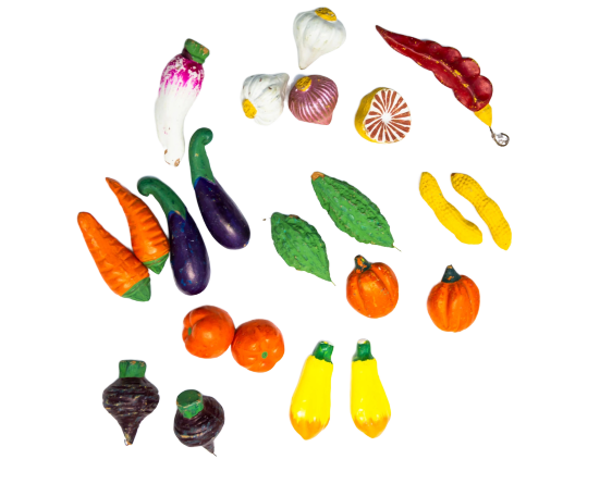 Ceramic Miniatures - Fruits & Vegetables